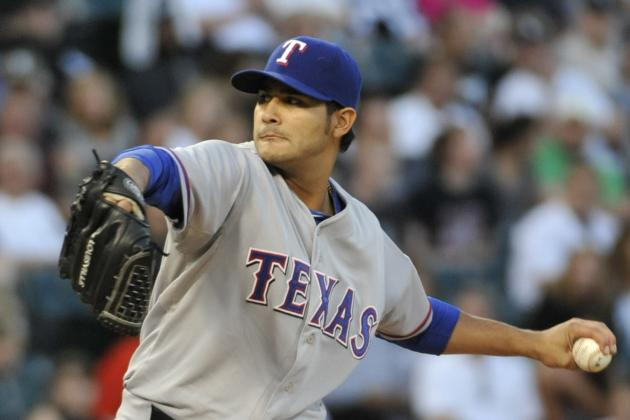 Rookie P Martin Perez Rewrites Record Book