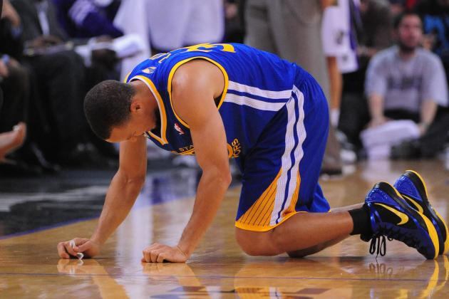 Are Stephen Curry's Ankles the Warriors Only Weak Link?