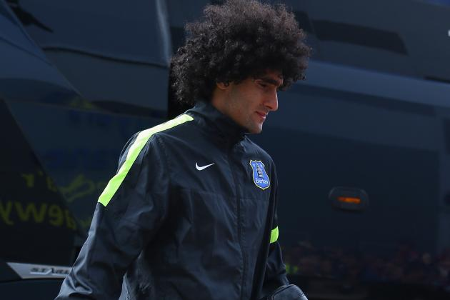 Manchester United Transfer News: Champions Overpaid for Marouane Fellaini