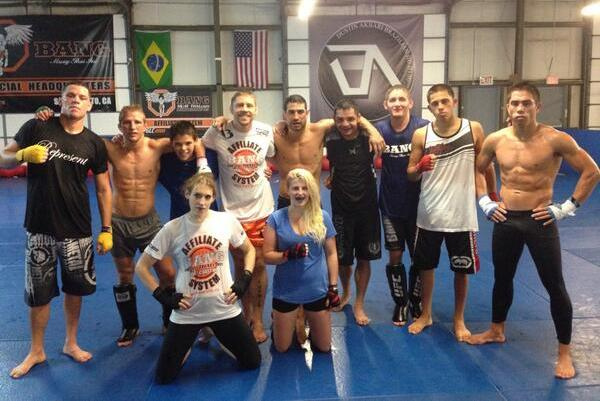 Nate Diaz Spotted Training with Duane Ludwig and Team Alpha Male
