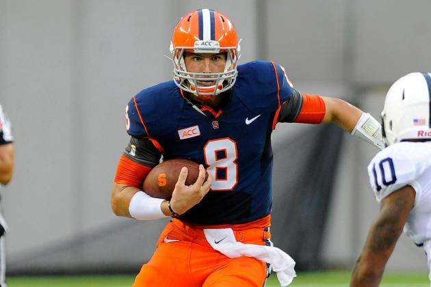 Syracuse Quarterback Drew Allen Won Teammates' Respect