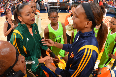 Catchings, Thompson Named WNBA's Conference Players of the Week