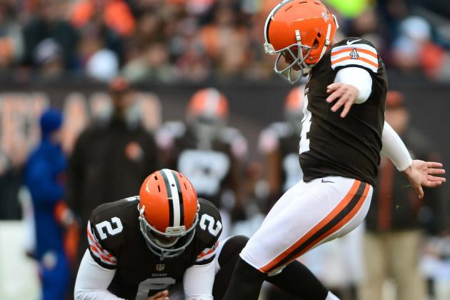 Browns Turn Kicker Position into Weakness
