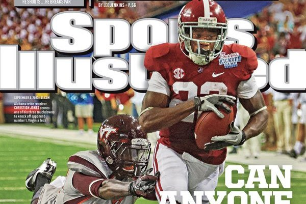 Alabama Crimson Tide Featured on Sept. 9 'Sports Illustrated' Regional Cover