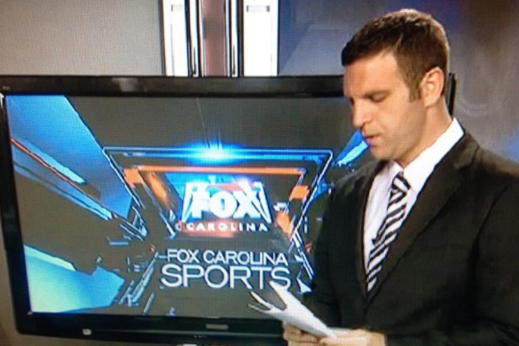 Fox Carolina Sportscaster's Embarrassing