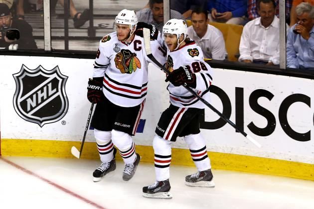 Chicago Blackhawks Playing Cards Perfectly to Keep Stanley Cup Core