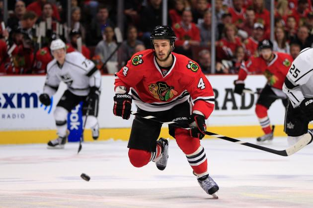Chicago Blackhawks: Niklas Hjalmarsson's Extension a Swift Move by Stan Bowman