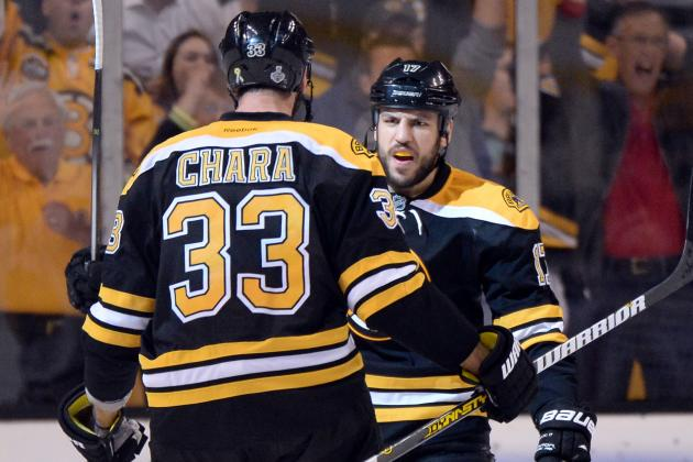 Chara, Lucic Among the New Arrivals at Practice