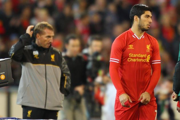 Brendan Rodgers Right to Give Luis Suarez Wide Role in Liverpool Attack
