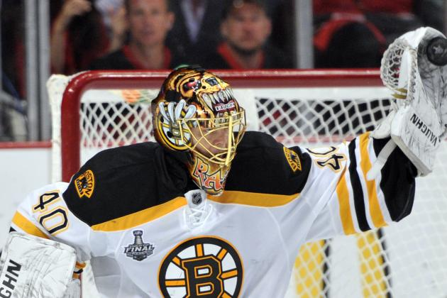 Tuukka Rask Feeling Right at Home with Boston Bruins