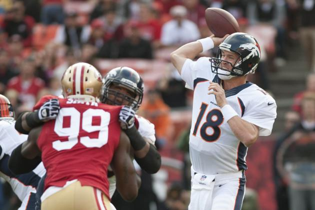 Broncos, 49ers Are Super Bowl Favorites