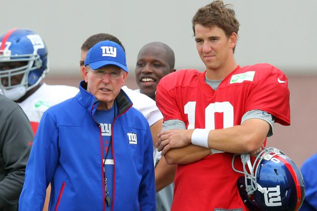 Predictions for the 2013 New York Giants