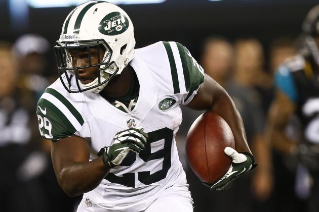Powell Named Jets' Starting RB; Ivory to 'Play a Lot'