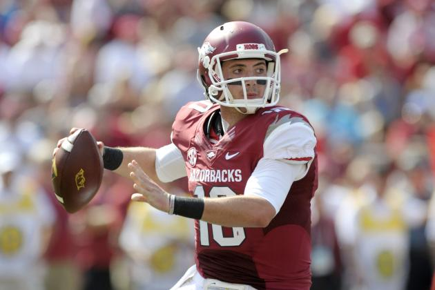 Arkansas Football: QB Brandon Allen Has Big Potential for Razorbacks