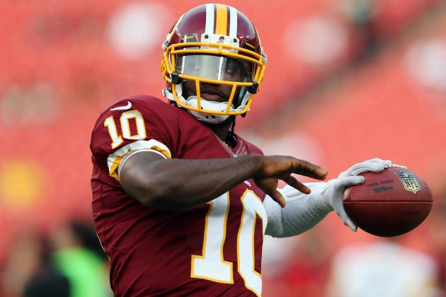 Robert Griffin III Will Curtail Injury Concerns with Dominant Showing vs. Eagles