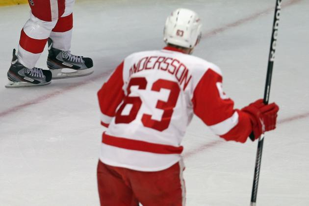 Andersson Looks to Build on Rookie Season, Switches from No. 63 to No. 18