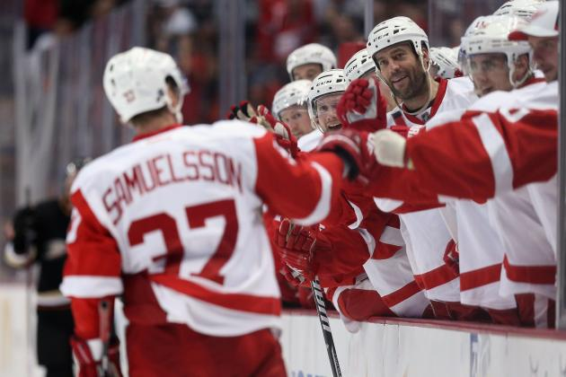 Wings' Mikael Samuelsson Ready to Fight for Job After 'Crazy' Wasted Season