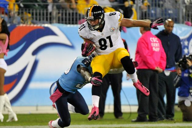 What to Make of the Pittsburgh Steelers' Tight-End-by-Committee Approach