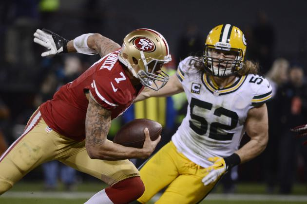 Colin Kaepernick Unfazed by QB Hits