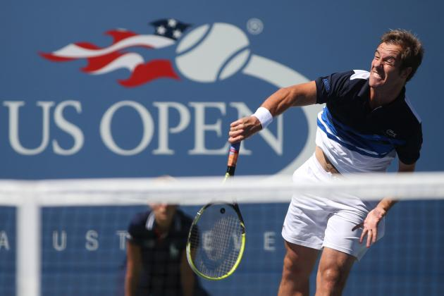 US Open Tennis 2013: How Richard Gasquet Can Buck History Again in Semifinals