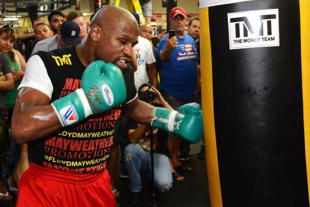 Floyd Mayweather Will Not Suffer Letdown Against Canelo Alvarez