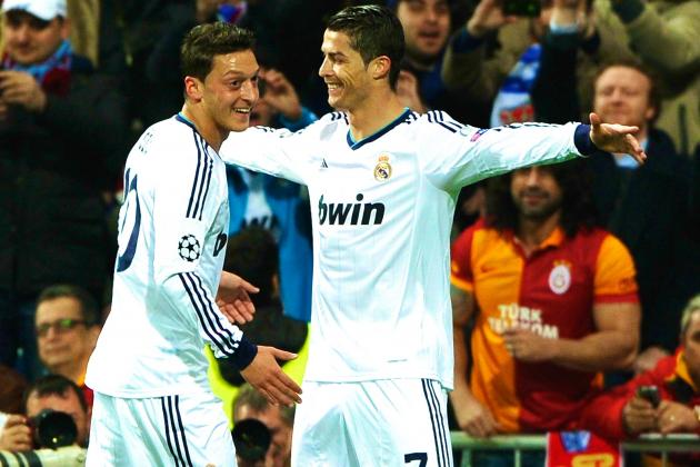 Cristiano Ronaldo Expresses Anger over Mesut Ozil Arsenal Transfer