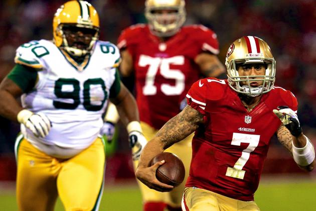 49ers' Jim Harbaugh Concerned Packers Defense Will Be Targeting Colin Kaepernick