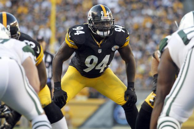 Pittsburgh Steelers Tale of the Tape: Lawrence Timmons