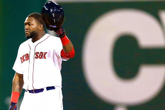 David Ortiz Notches 2,000th Hit of Career in Front of Adoring Fenway Park Crowd