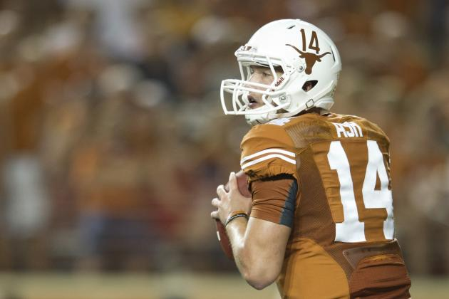Texas vs. BYU: Why David Ash Will Have a Big Game Through the Air