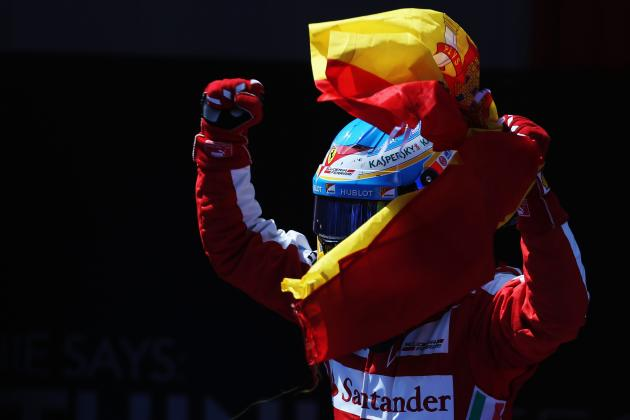 Assessing Fernando Alonso's Performances in 2013: How Close to His Best Is He?