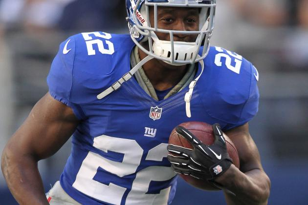 Giants' David Wilson Stresses Ball Security
