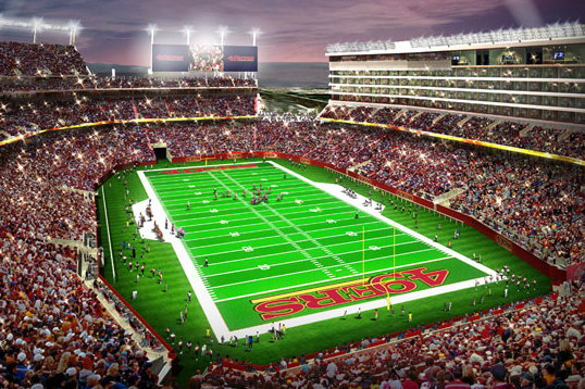 More Images Of Levi's Stadium Released