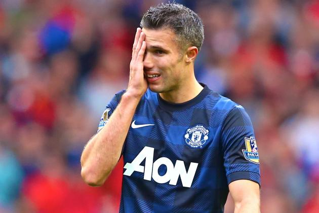 Robin Van Persie Responds to Reports He Is Unhappy at Manchester United