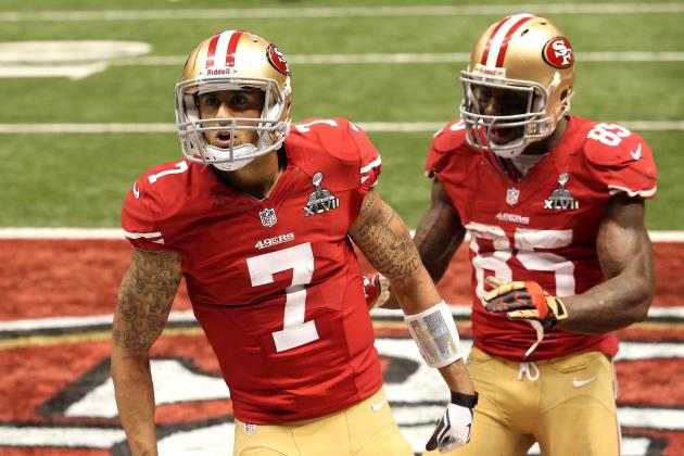 Randy Moss Skeptical of Kaepernick-Davis Tandem, Encouraged by Boldin