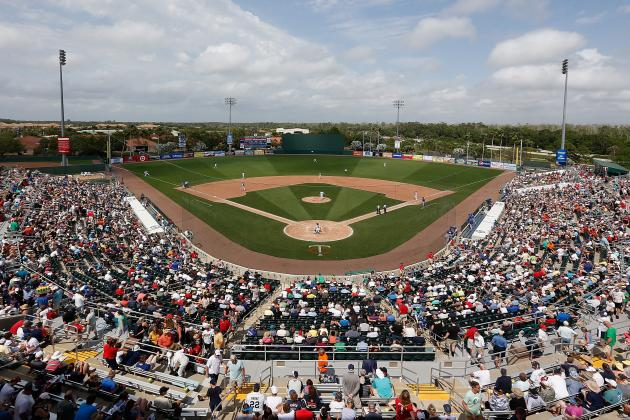 Twins Break Ground on Spring Training Upgrades