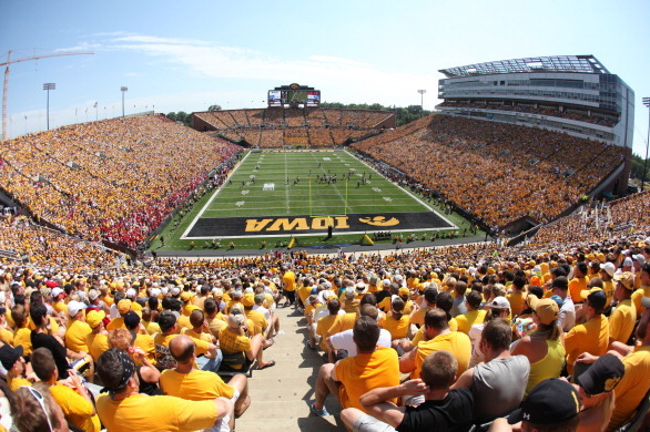 Reseating of Kinnick Stadium Makes Fans Consider Options