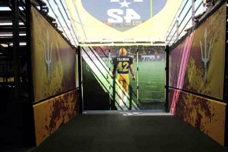 Pat Tillman Leads Arizona State out to Every Home Game