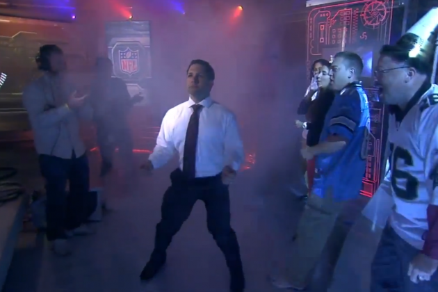 Adam Schefter Is Excited for the Season, Busts Out Ray Lewis Dance