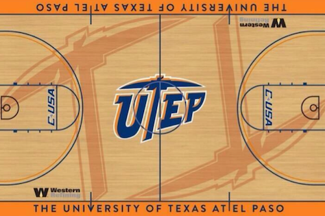 PHOTO: UTEP's New Court Design Is Eye-Catching Without Being Gaudy