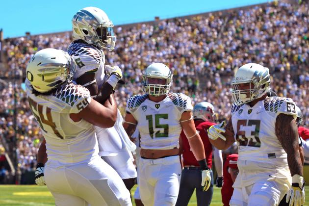 Grading the Top 5 College Football Offenses Heading into Week 2