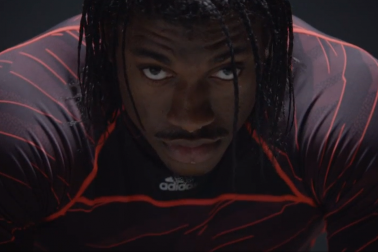 Redskins QB Robert Griffin III Is Ready to Explode in the New Adidas Ad
