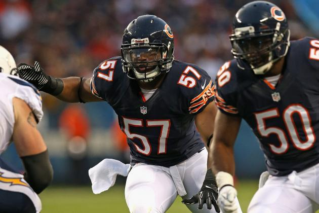 Why the Chicago Bears Should Start D.J. Williams over Jon Bostic in Week 1
