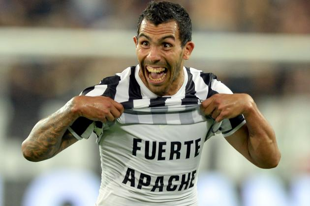 Early Impressions of Carlos Tevez at Juventus