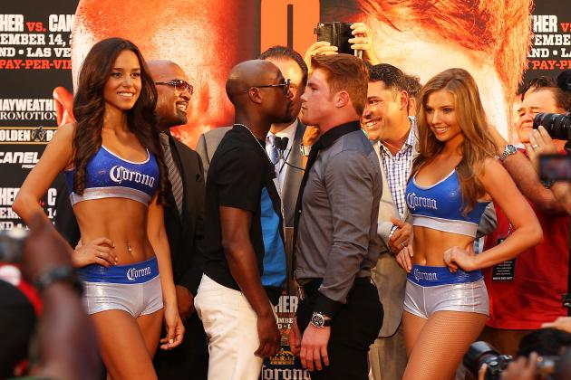 Mayweather vs. Canelo: Move Up to Catchweight Will Make Bout Tough for Money May