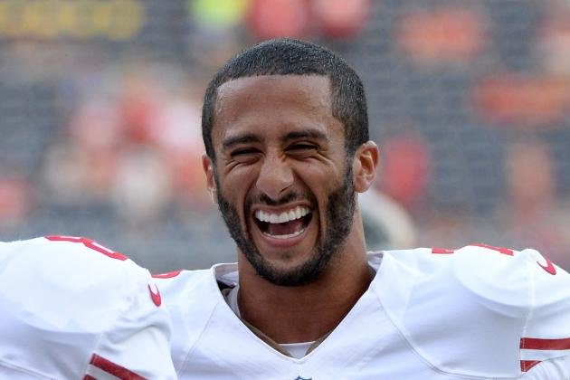 Captain Kaepernick: 'It's a Great Honor'