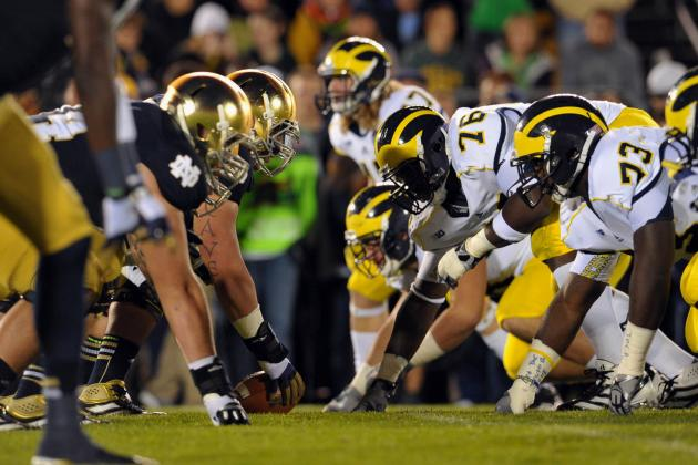 Notre Dame vs. Michigan: TV Info, Spread, Injury Updates, Game Time and More