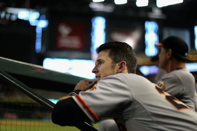 Giants Send Buster Posey for X-Rays on Injured Finger
