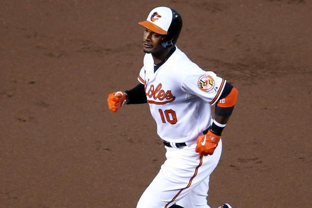 Adam Jones Reaches 30 Homers, 100 RBI… and 20 Walks!