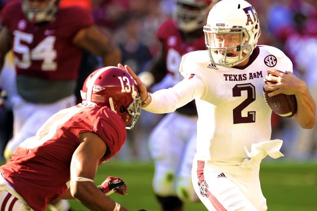 Alabama vs. Texas A&M: Will Johnny Manziel's Sandlot Style Trip the Tide Again?